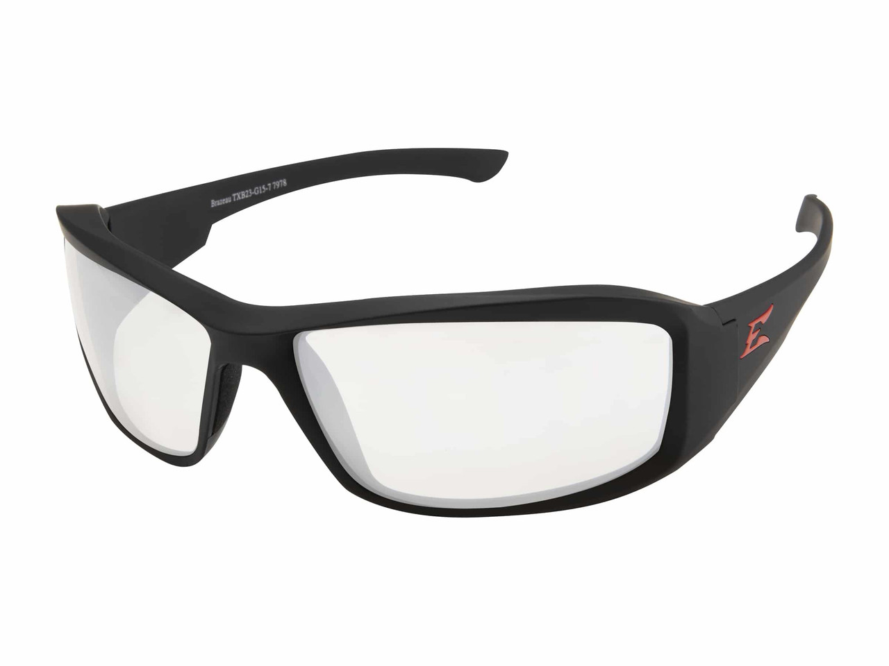 The Edge Brazeau - Torque - Clear with Vapor Shield Safety Glasses