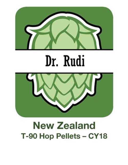 CY18 NZ Dr Rudi T-90 Pellets 4x11lb/5kg (44lb/20kg) Box