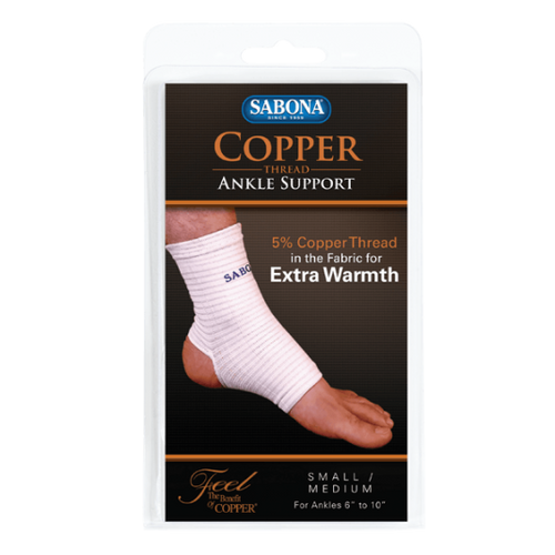Sabona Copper Thread Ankle Support