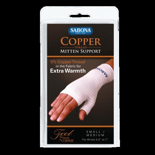 Sabona Copper Thread Mitten Support