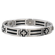 Sabona Cross Cable Stainless Magnetic Bracelet