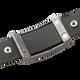 Sabona Spirit Black Leather Magnetic Wristband