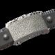 Sabona Sierra Black Leather Magnetic Wristband