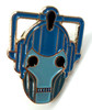 Doctor Who UK Imported Lapel Pin - CYBERMAN HEAD (New Series Style)