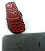 Doctor Who UK Imported Lapel Pin - RED DALEK