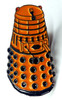 Doctor Who UK Imported Lapel Pin - YELLOW DALEK