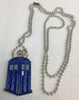 "Doctor Who: TARDIS Pendant Necklace with 24"" chain"