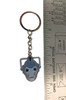 Doctor Who: New Series CYBERMEN Head - UK Imported Metal Keyring Keychain