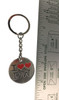 """I """"Double Heart"""" Love The Doctor keychain"""