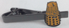 Doctor Who Tie Clip - YELLOW DALEK
