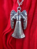Doctor Who: WEEPING/SCREAMING ANGEL (Two Sided) Pendant Necklace