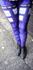 "Doctor Who: TARDIS Panel ""Blue Box"" Leggings"