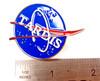 Doctor Who Exclusive Lapel Pin - NASA TARDIS Logo