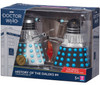 DOCTOR WHO: HISTORY OF THE DALEKS #4 - 'THE DALEKS' MASTER PLAN' Starring William Hartnell - Action Figure Set of 2 - Classic Series - Character Options