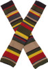 Doctor Who: 4th Doctor (Tom Baker) - Scarf Style Long Arm Warmers & 6 Foot Scarf Bundle