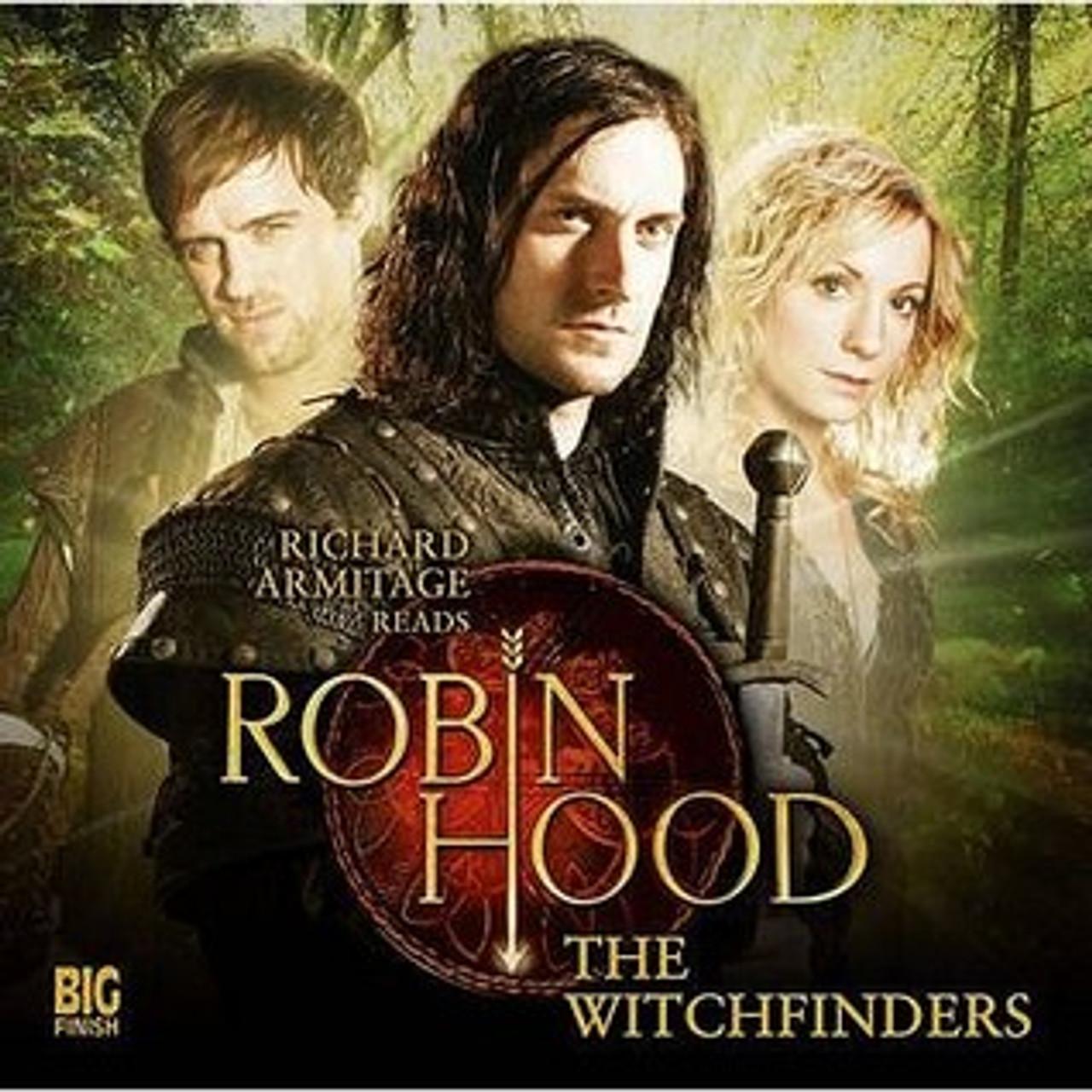 Big Finish   Robin Hood The Witchfinders Audio CD 20.20