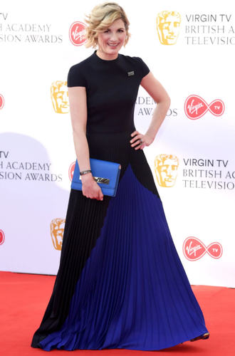 Jodie Whittaker Showed Up to the TV BAFTAS and Took the Red Carpet By Storm