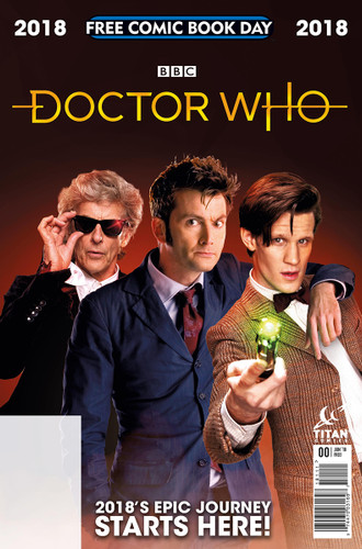 You Really Need a Copy of This Year's 'Doctor Who' Free Comic Book Day Special