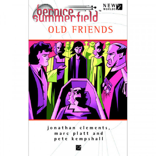 Bernice Summerfield - OLD FRIENDS - Big Finish Hardcover Book