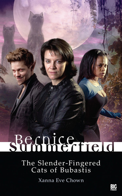 Bernice Summerfield - THE SLENDER-FINGERED CATS OF BUBASTIS - (Legion tie-in) - Big Finish Hardcover Book