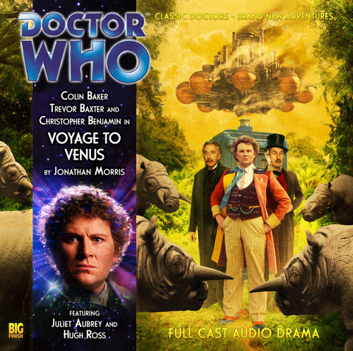 VOYAGE TO VENUS - A Big Finish Special Audio CD starring Colin Baker