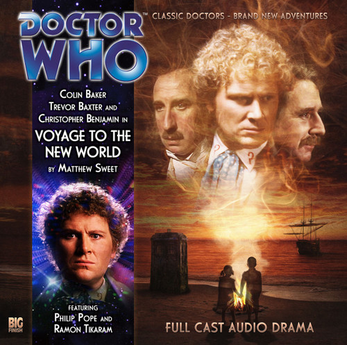 Doctor Who: VOYAGE TO THE NEW WORLD - A Big Finish Special Audio CD starring Colin Baker