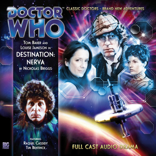 Doctor Who: The 4th Doctor Stories #1.1 - DESTINATION NERVA - Big Finish Audio CD