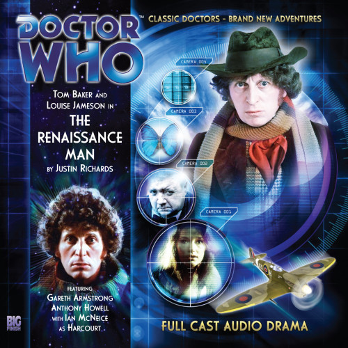 Doctor Who: The 4th Doctor Stories #1.2 - The RENAISSANCE MAN - Big Finish Audio CD