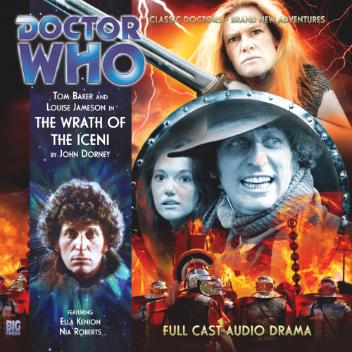 Doctor Who: The 4th Doctor Stories #1.3 - The WRATH OF THE ICENI - Big Finish Audio CD