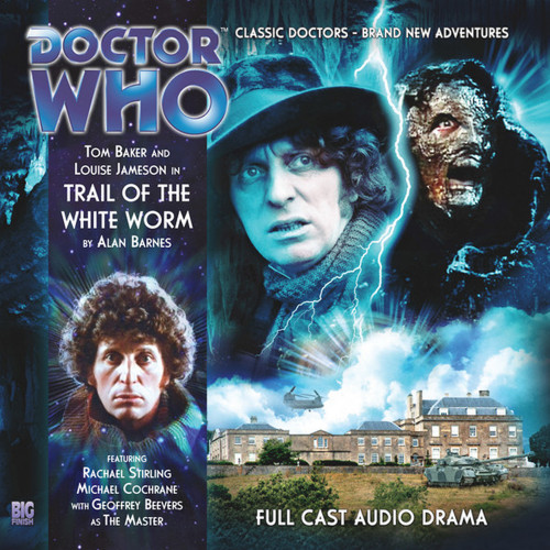 The 4th Doctor Stories #1.5 - Trail of the White Worm - Big Finish Audio CD