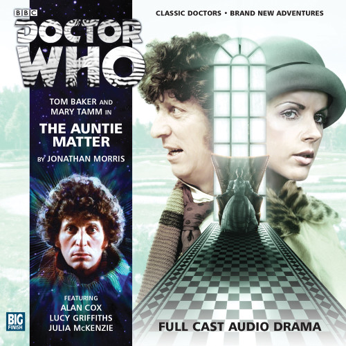 Doctor Who: The 4th Doctor Stories #2.1 - The AUNTIE MATTER - Big Finish Audio CD