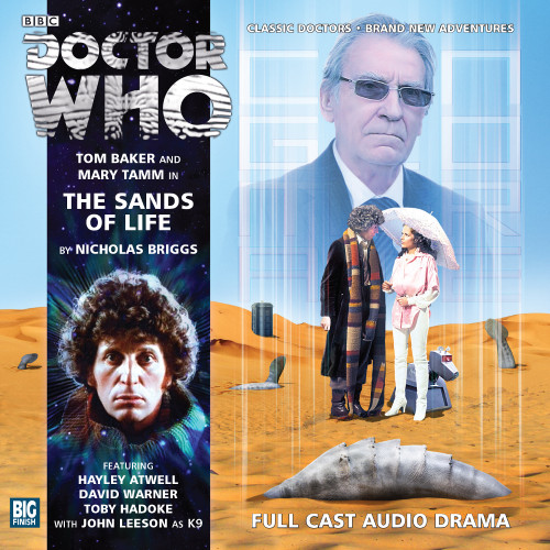 Doctor Who: The 4th Doctor Stories #2.2 - The SANDS OF LIFE - Big Finish Audio CD