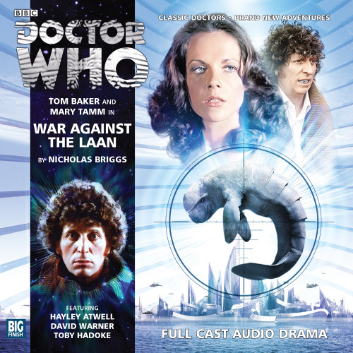 Doctor Who: The 4th Doctor Stories #2.3 - WAR AGAINST THE LAAN - Big Finish Audio CD