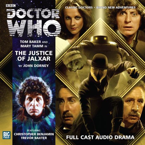 Doctor Who: The 4th Doctor Stories #2.4 - The JUSTICE OF JALXAR - Big Finish Audio CD