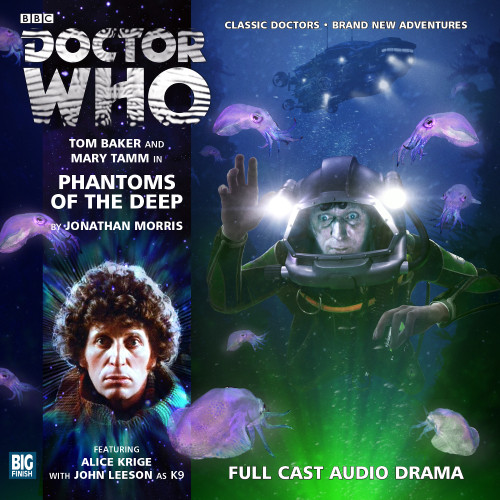 The 4th Doctor Stories #2.5 - Phantoms of the Deep - Big Finish Audio CD