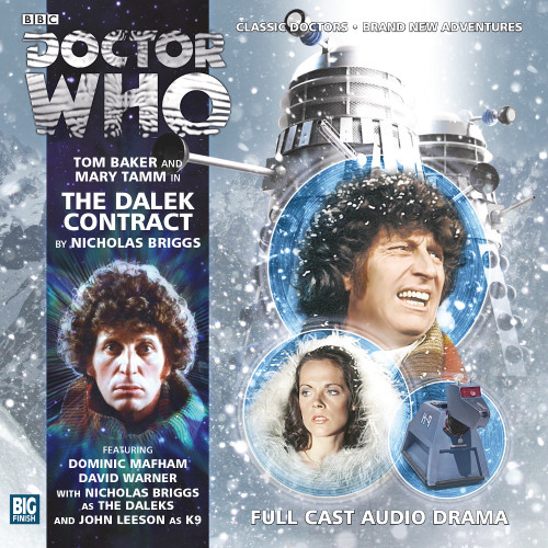 Doctor Who: The 4th Doctor Stories #2.6 - The DALEK CONTRAT - Big Finish Audio CD