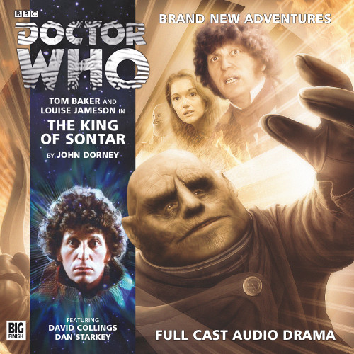 Doctor Who: The 4th Doctor Stories #3.1 - The KING OF SONTAR - Big Finish Audio CD