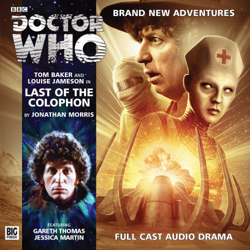 Doctor Who: The 4th Doctor Stories #3.5 - LAST OF THE COLOPHON - Big Finish Audio CD