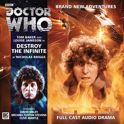 The 4th Doctor Stories #3.6 - Destroy the Infinite - Big Finish Audio CD