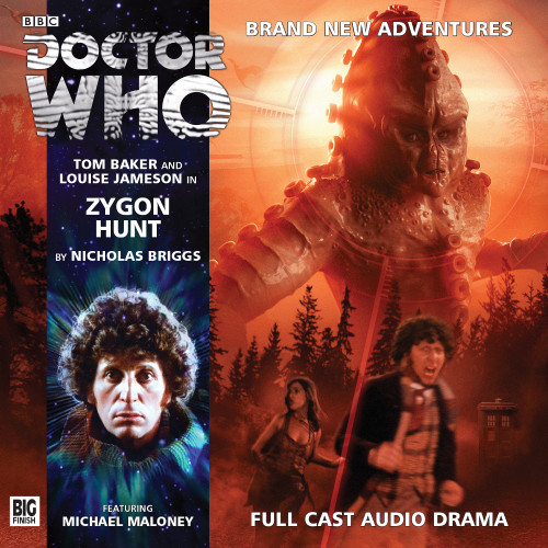 Doctor Who: The 4th Doctor Stories #3.8 - ZYGON HUNT - Big Finish Audio CD
