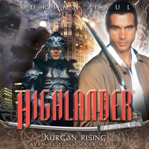 Highlander: #1.4 KURGAN RISING - Big Finish Audio CD read by Adrian Paul