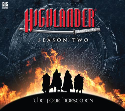 Highlander: Season 2 THE FOUR HORSEMEN - Big Finish Audio CD Boxed Set
