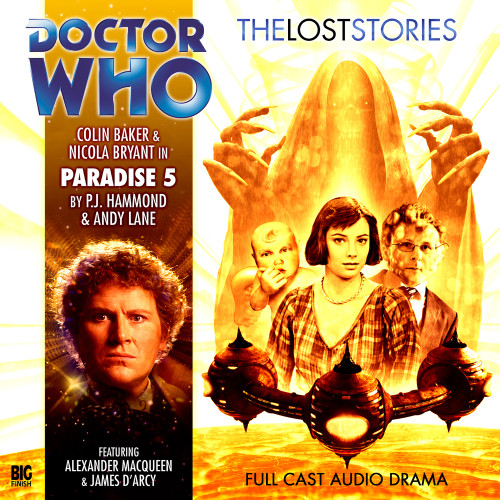 Doctor Who: PARADISE 5 - The 6th Doctor's Lost Stories #1.05 - Big Finish Audio CD