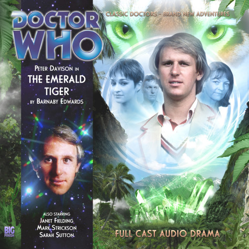 Doctor Who: THE EMERALD TIGER - Big Finish Audio CD #159
