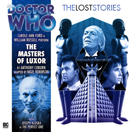 Doctor Who: The MASTERS of LUXOR - The Lost Stories #3.07 - Big Finish Audio CD