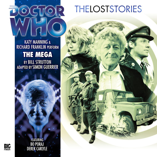 Doctor Who: The MEGA - The Lost Stories #4.04 - Big Finish Audio CD