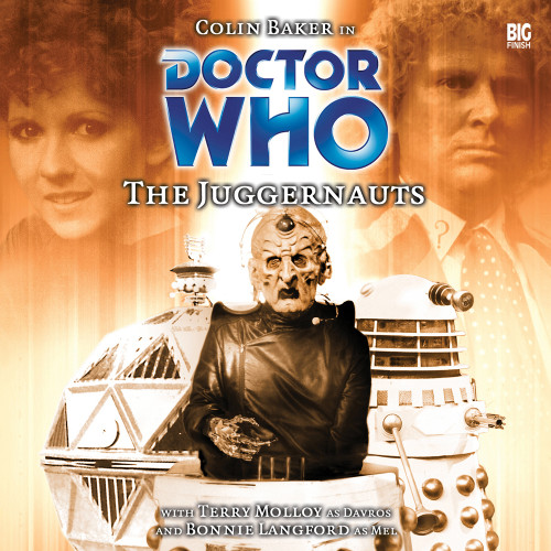 Doctor Who: THE JUGGERNAUTS - Big Finish 6th Doctor Audio CD #65