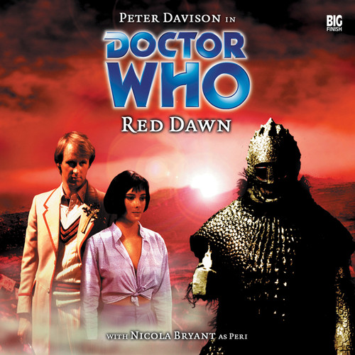 Doctor Who: RED DAWN - Big Finish 5th Doctor Audio CD #8