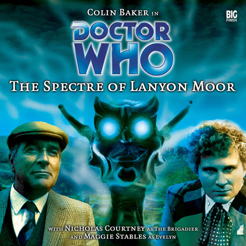 Doctor Who: THE SPECTRE OF LANYON MOORE - Big Finish 6th Doctor Audio CD #9 (Last ONE)