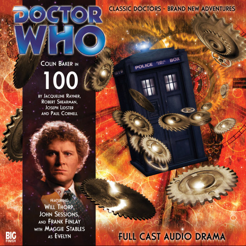 Doctor Who: 100 - Big Finish 6th Doctor Audio CD #100